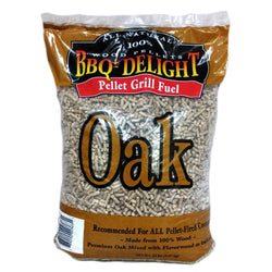 BBQers Delight Oak Pellet Wood 20 Lbs