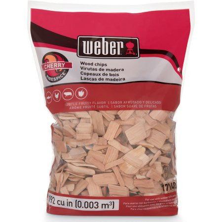 Weber Cherry Wood Chips 2lb. Bag