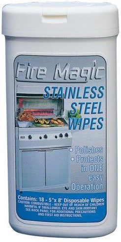 fire magic stainless steel polish wipes