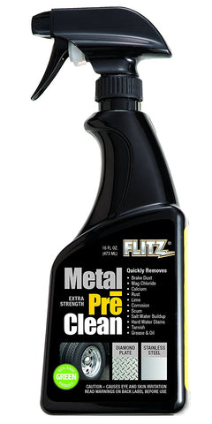 Flitz Metal Pre Clean Spray (16 oz)