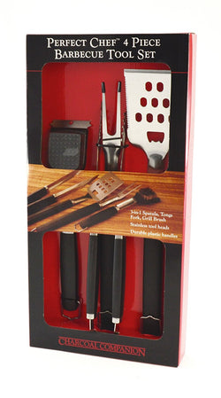 Barbecue 4 piece tool set