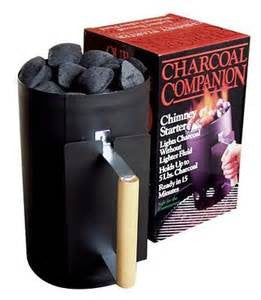 Companion Black Chimney Starter