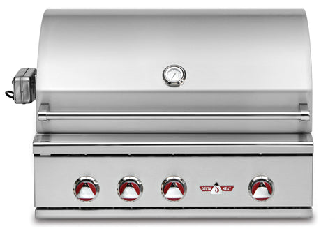 Delta Heat 32 Inch Outdoor Gas Grill with IR Rotisserie (2019)
