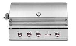 Delta Heat 38 Inch Outdoor Gas Grill with IR Rotisserie (2018)
