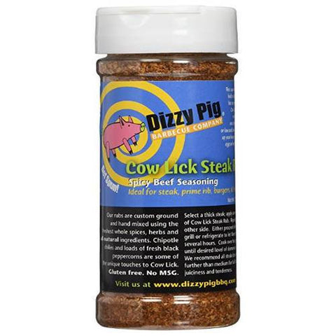 Dizzy Pig Cow Lick Rub for meat