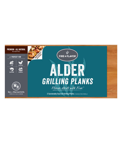 Medium Fire and Flavor's Alder Grilling Plank