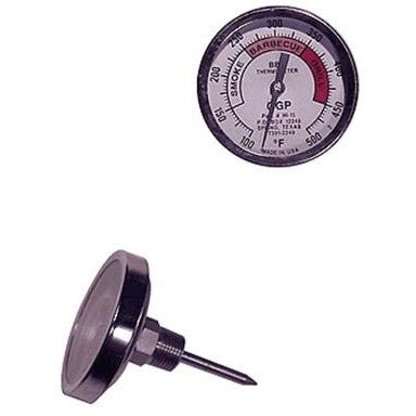 "Smoker Thermometer Gauge 3"" Dial"