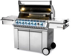 Prestige PRO™ 665 RSIB Stainless Steel with Infrared Rear and Side Burners
