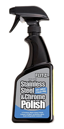 Flitz Stainless Steel & Chrome Polish (16oz)