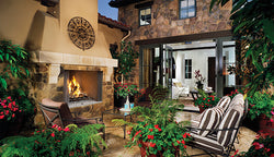 WRE4500  Outdoor Fireplace - Wood Burning
