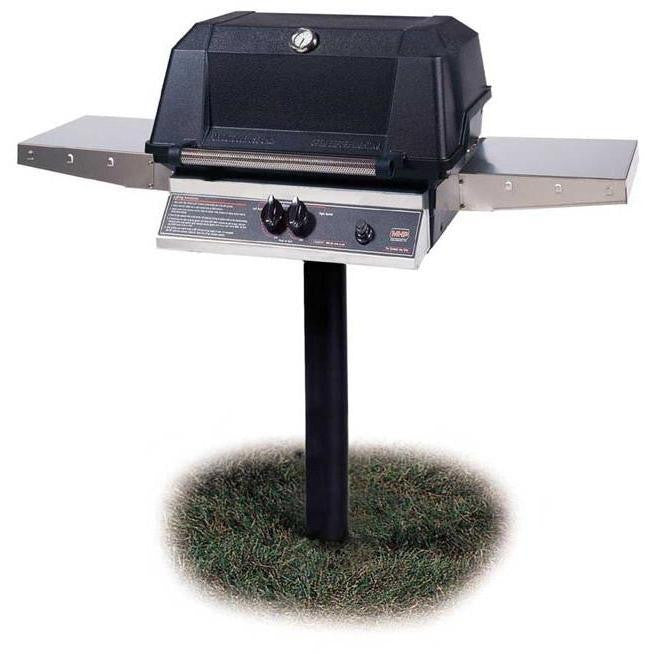 Mhp Wnk4dd Grill Head With Stainless Steel Shelves Houston