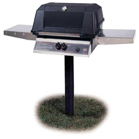 MHP WNK4DD Grill Head with Stainless Steel Shelves
