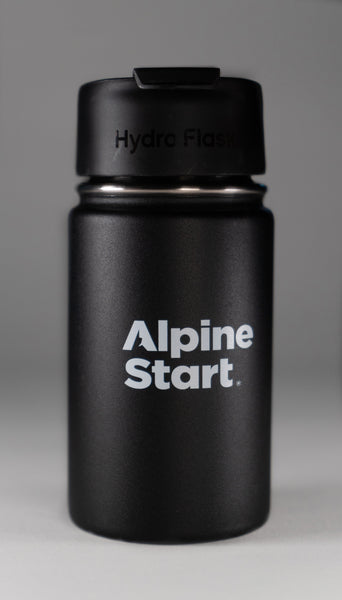 Alpine Start Instant Coffee | Hydro Flask Black 12 oz