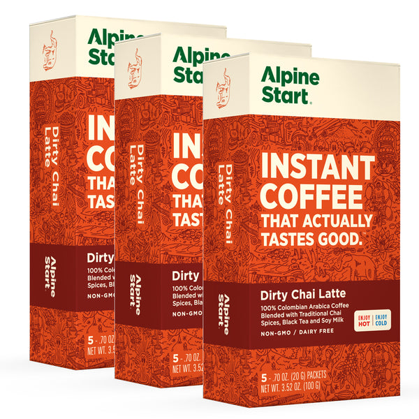 Alpine Start Dirty Chai Bundle 3-PACK