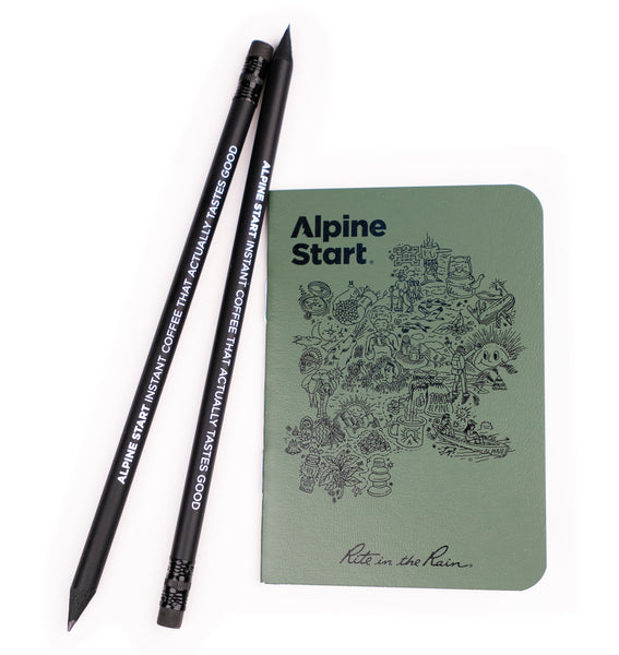 Waterproof Mini Notebook - Rite In The Rain x Alpine Start