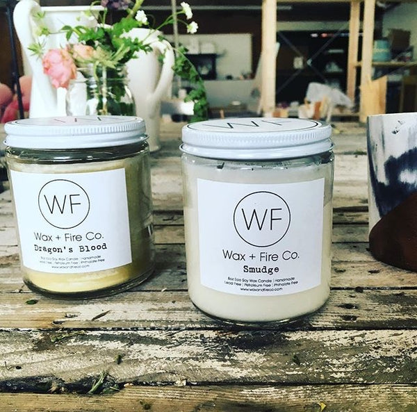 Handmade Soy Candles for the eco and wellness minded.