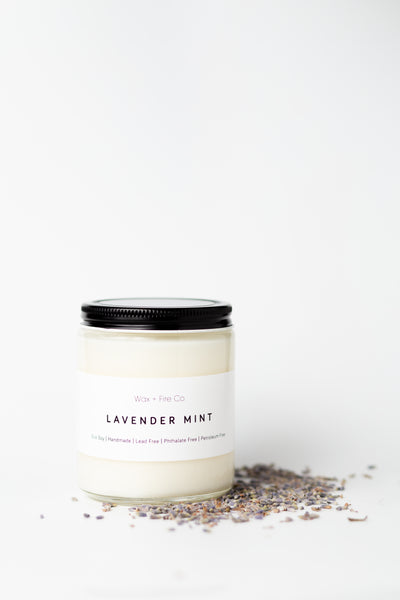 Lavender Mint Soy Candle