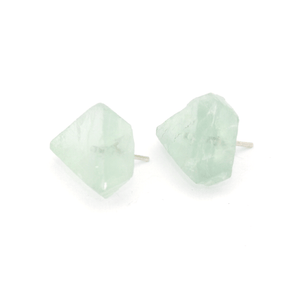 Piece of Earth - Fluorite Earrings - 925 Silver