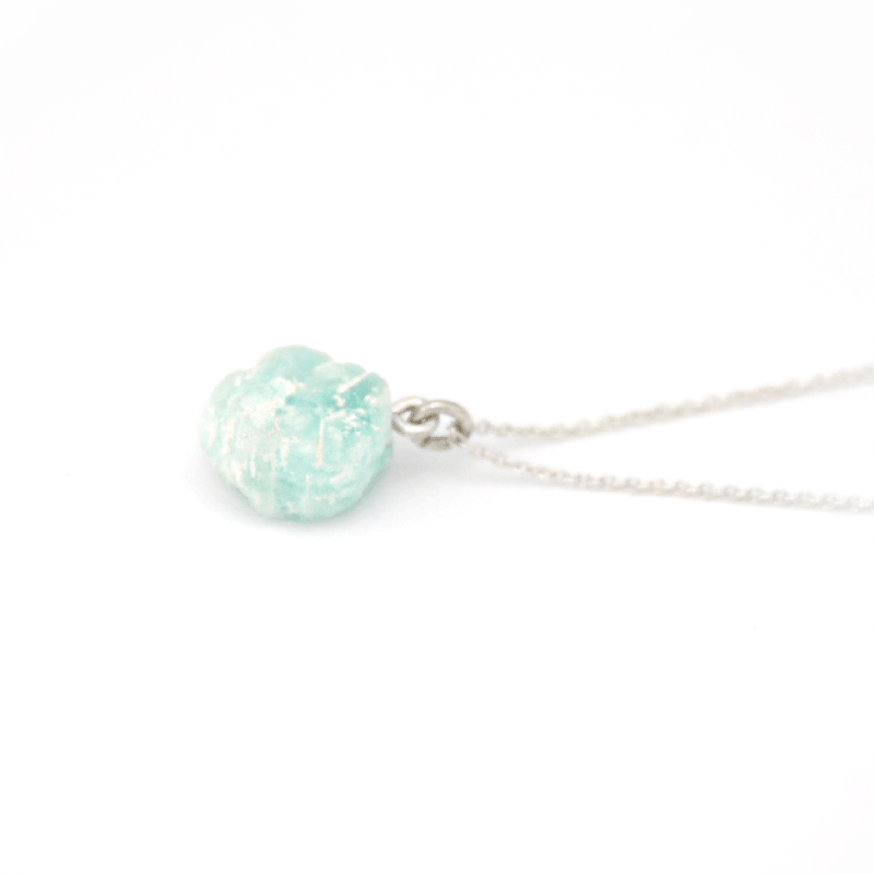 Piece of Earth - Amazonite Drop Necklace - 925 Silver