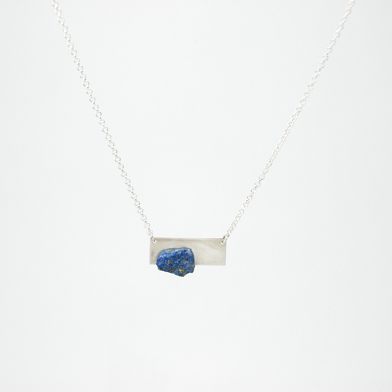 sofia black unusual lapis product necklace spinel lazuli jewellery bead