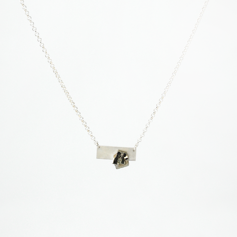 Symbio - Pyrite Necklace