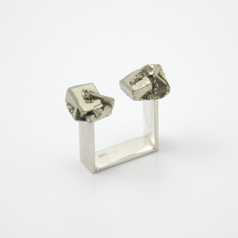 Symbio - Double Pyrite Ring