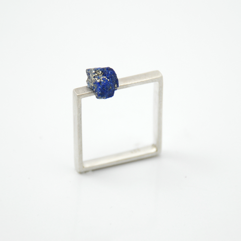 Symbio - Square Lapis Ring