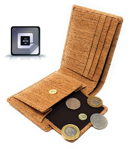 Vegan Wallet RFID Blocking