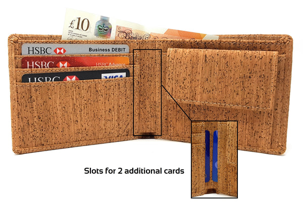 cork wallets men