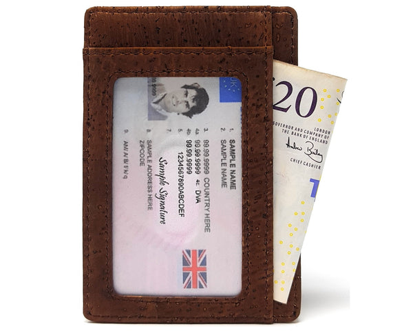 Small Cork Wallet for Men
