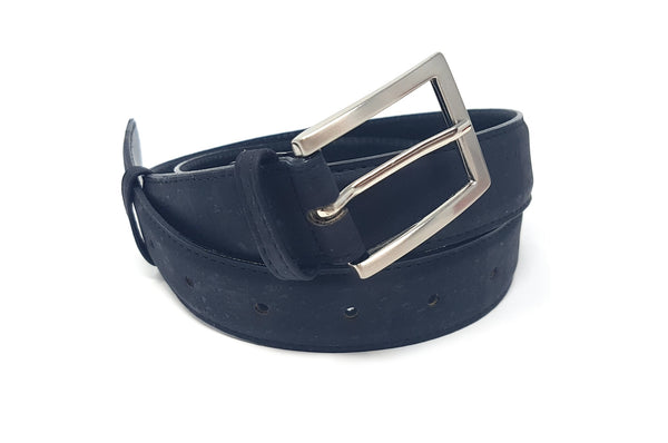 vegan belt women 30 mm black