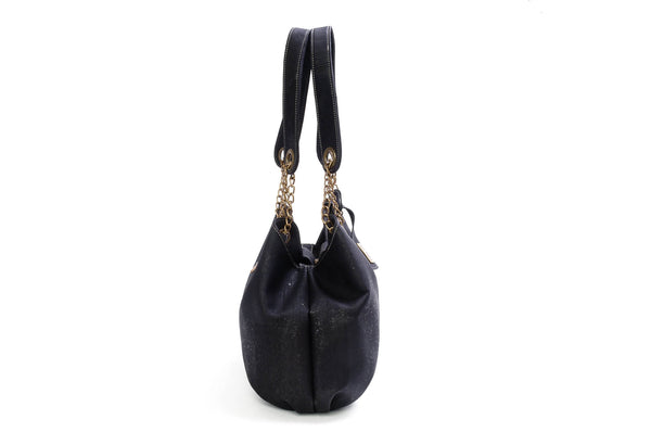 black luxury vegan handbags