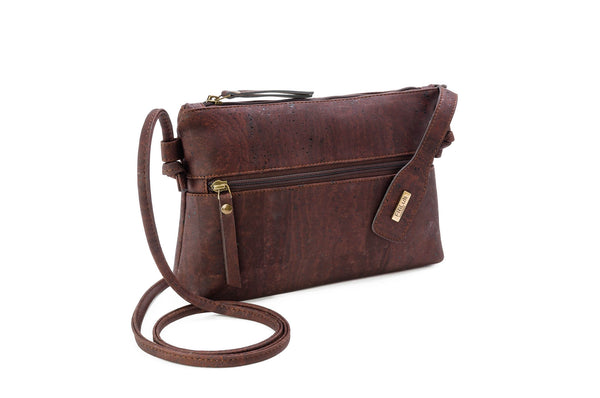 brown cork handbags