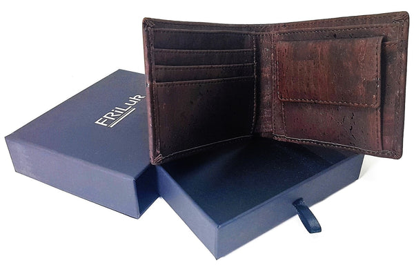 Cork Vegan Wallet with Gift Box
