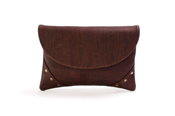 evening clutch bags brown
