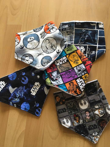5 Piece Bandana Set - Starwars