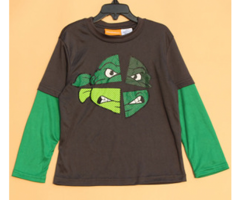 Ninja Turtle Long Sleeve Tee