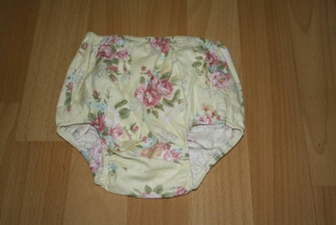 Nappy Cover - Flower Sugar Yellow