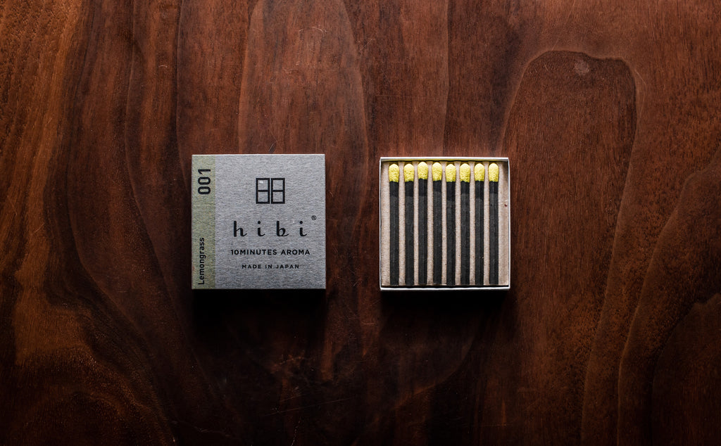 Hibi Matchbook Incense