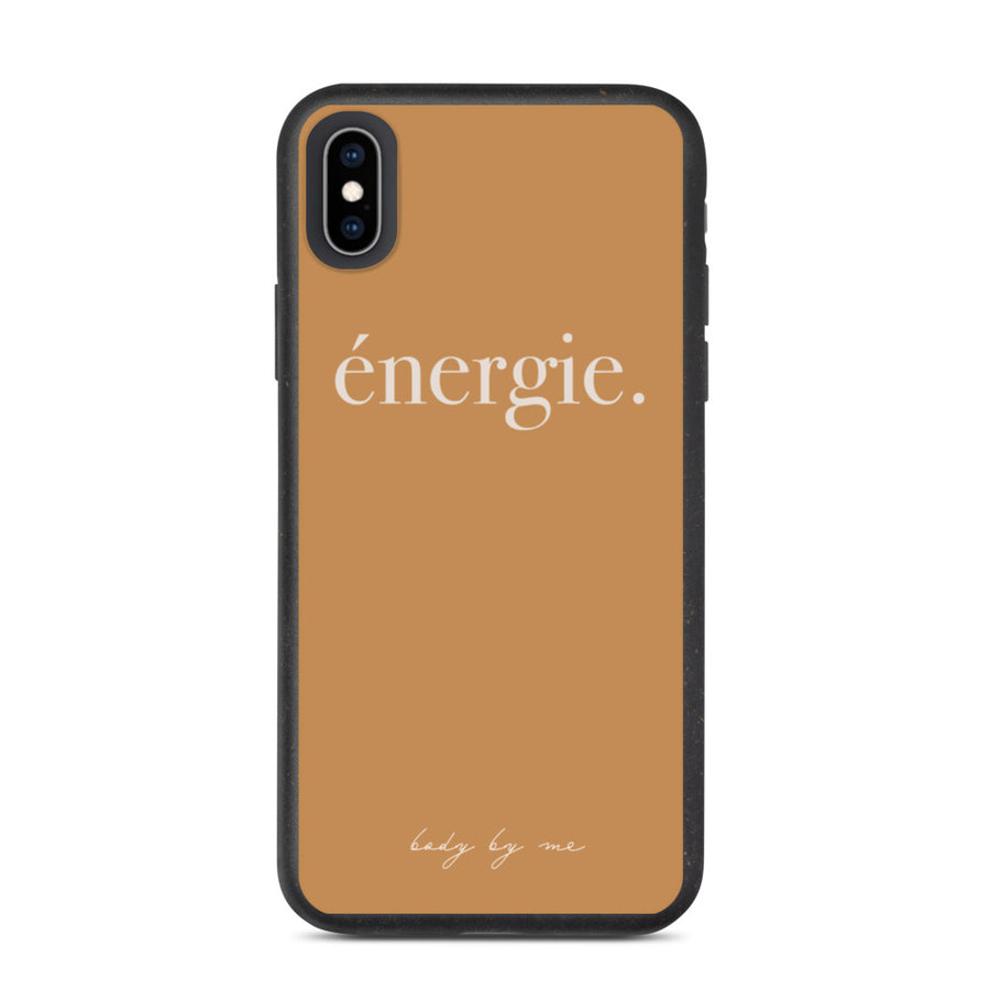 PRE-ORDER énergie biodegradable phone case
