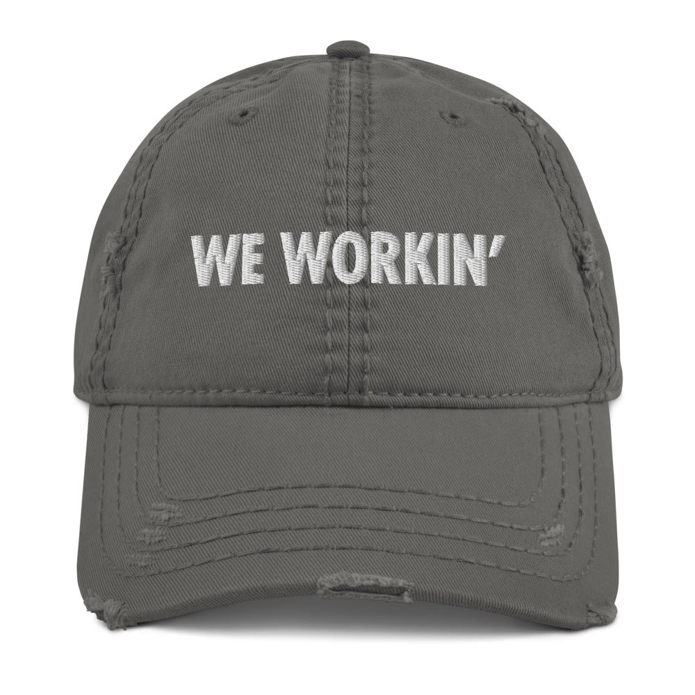 We Workin' Dad Hat