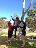 Slackline Instructor Course - 3 Days - GOLD COAST