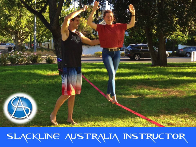 Private Slacklining Workshop Dr Rob Brooks