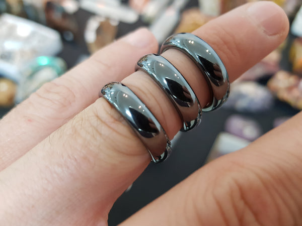 Hematite Ring - Earth's Treasures