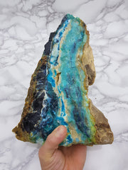 Blue Opal Fossilised Wood 3.6kg - Earth's Treasures