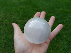 Selenite (Satin Spar) Sphere - Earth's Treasures