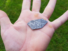 Nantan Meteorite Slice - Earth's Treasures