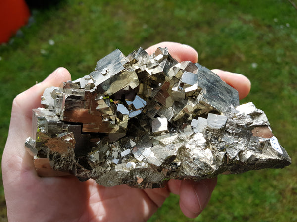 Pyrite Natural Cubic Cluster 850g