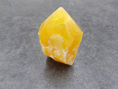 Orange Calcite Point - Earth's Treasures