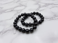 Shungite Bracelet 10mm - Earth's Treasures